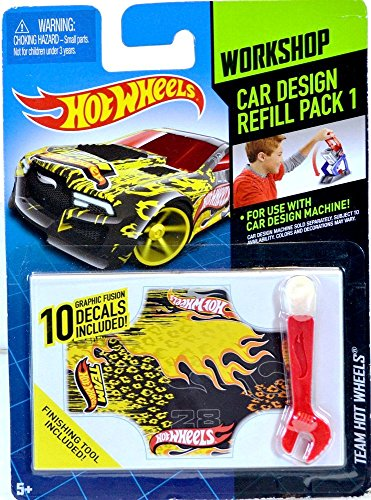 Hot Wheels Workshop Car Design Refill Pack 1 - 1