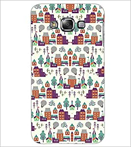 PrintDhaba Pattern D-2182 Back Case Cover for SAMSUNG GALAXY A7 (Multi-Coloured)
