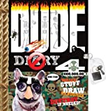 Dude Diary 4: Write Stuff, Draw Randomly, Destroy If Needed! [With Lock]