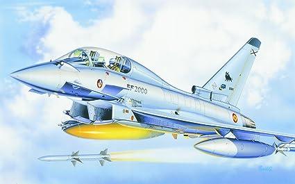 Italeri - I099 - Maquette - Aviation - EF-2000 Eurofighter Biplace - Echelle 1:72