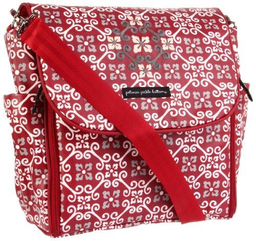 Petunia Pickle Bottom Boxy Backpack Diaper Bag (Travel Through Tivoli) front-816704