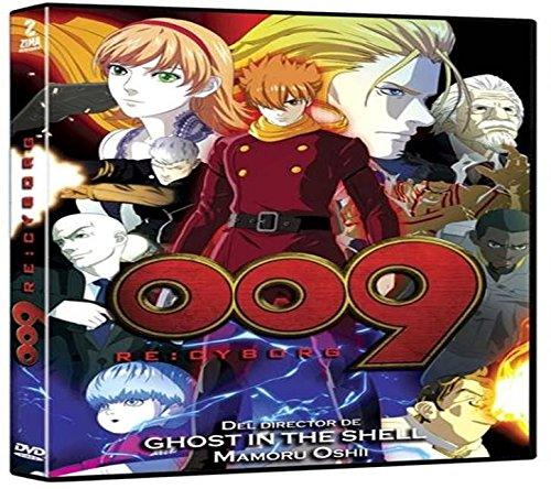 009 Re:cyborg DVD En Español Latino Region 1 Y 4