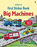 Cover of Big Machines Sticker Book by Felicity Brooks 1409524167
