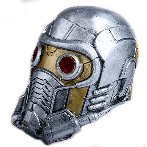 Adult Guardians of the Galaxy Star Lord Resin Helmet Movie Cosplay Props