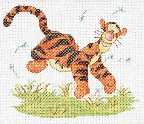 Janlynn Cross Stitch Kit, Tigger Watercolor