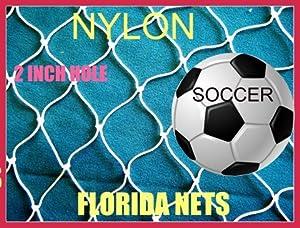 Buy 30x25 Fishing Net, Soccer, Basketball, Softball, Sports, Fish Net, Netting, Cage, by Florida Nets