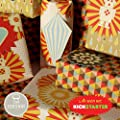 Bright Stem 3 Sheets of Mixed Wrapping Paper (folded) and 16 Tags