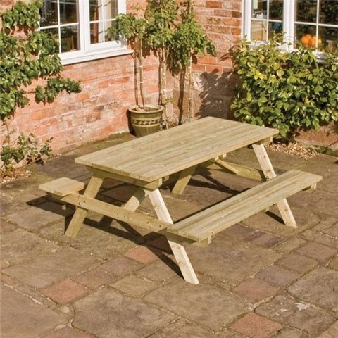 ROWLINSON 5FT PICNIC BENCH