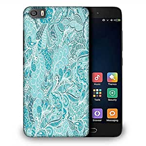 Snoogg vector seamless texture with abstract flowers endless background ethnic sea Designer Protective Back Case Cover For Samsung Galaxy J1