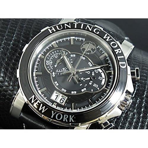 ハンティングワールド HUNTING WORLD イリス 腕時計 HW913BK [並行輸入品]