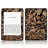 TaylorHe Vinyl Skin Decal for Amazon Kindle Paperwhite Ultra-slim protection for Kindle MADE IN BRITAIN FREE UK DELIVERY Design of Ancient Wood Texture