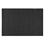 YESURPRISE Set of 4 Top Grade PVC Weave Waterproof Placemats Heat Insulation Slip-resistant Table Pad Cup Mat Gift #20