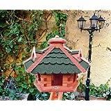 """Vogelhaus xxl, Futterhaus 53 cm Dach gr�n, wetterfestvon """"BTV Batovi"""""""