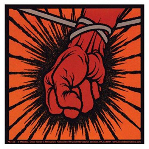Set: Metallica, St Anger Sticker Adesivo (9x9 cm) e 1 Sticker sorpresa 1art1®
