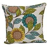 Brentwood Originals 35360 Indoor/Outdoor 17 Inch Toss pillow, Sunflower Lane