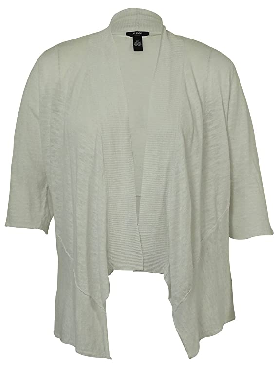 Alfani Women's Drape Open Front Cardigan Sweater