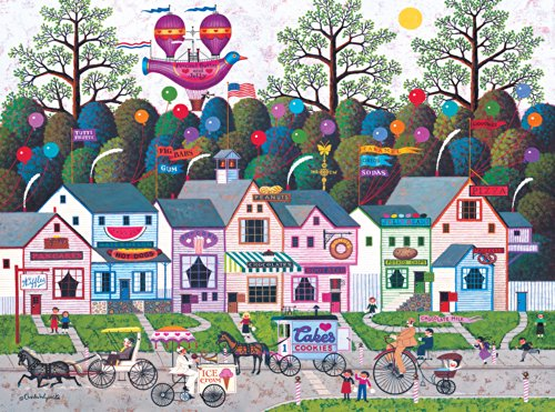 Buffalo Games Charles Wysocki: Confection Street - 1000 Piece Jigsaw Puzzle by Buffalo Games - 1