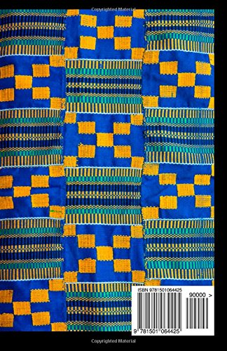 Blue Kente 2015 Weekly Calendar: 2015 week by week calendar with a cover photo of a piece of blue and yellow Kente cloth