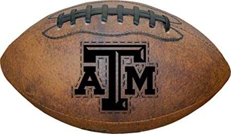 NCAA Texas A&M Aggies Game Master Throwback Football, Brown