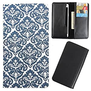 DooDa - For Lava Ivory + PU Leather Designer Fashionable Fancy Case Cover Pouch With Card & Cash Slots & Smooth Inner Velvet