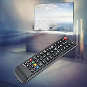New BN59-01199F Replaced Remote fit for SAMSUNG UN60J6200AF UN60J6200AFXZA UN60J620DAF UN60J620DAFXZA UN60JU6400F UN60JU6400FXZA UN32J4500AF UN32J525DAFXZA UN43JU640DF UN50J6200AF LED LCD HDTV