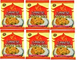 Chinese Authentic Curry Mix 220g Chinese Take Away Curry powder Sauce Mix Quick Delicious Varrious Sizes (4 Packet 220g)