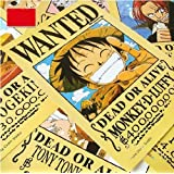 Topbill Anime One Piece Pirates Wanted Posters 11pcs Set