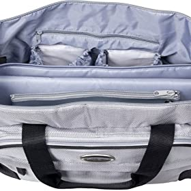 Eddie Bauer Davenport Duffle Diaper Bag - Silver