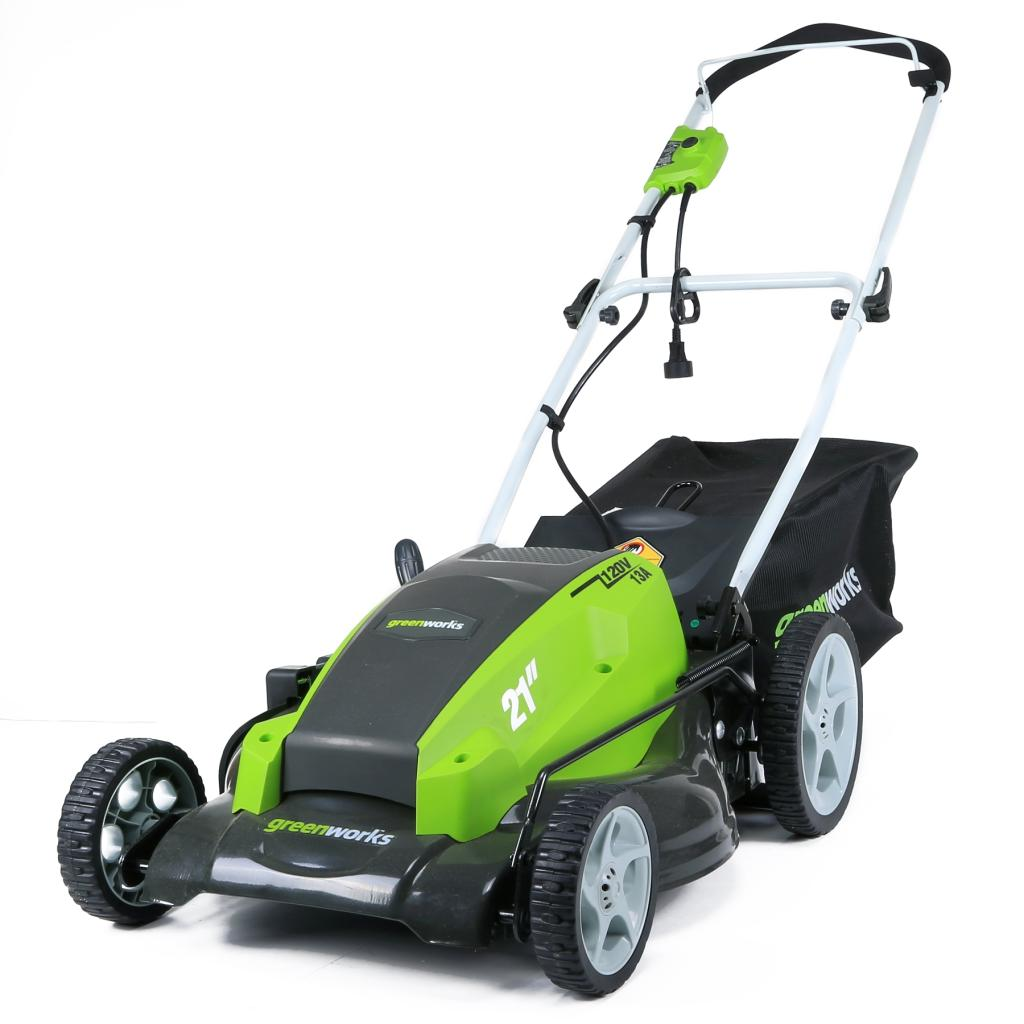 Greenworks 13amp 21 Inches Corded Mower