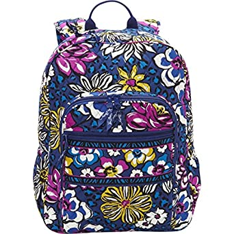 Vera Bradley Campus Backpack (African Violet)