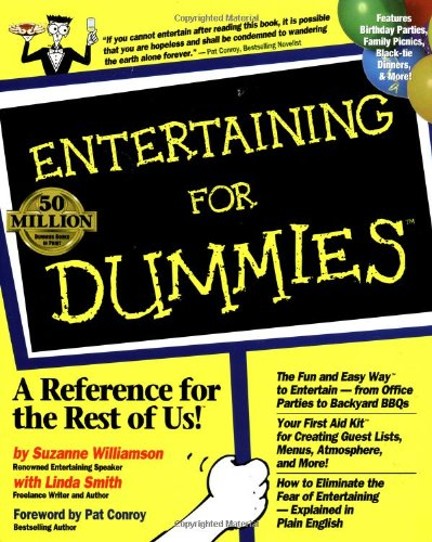 Entertaining For Dummies (For Dummies (Lifestyles Paperback))
