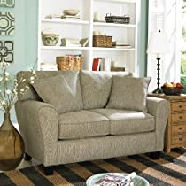Hot Sale Sofab Angel Love Seat, Pewter