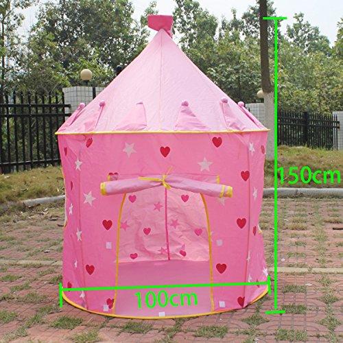 Agptek® Fairy Princess Castle Pop Up Play Tent For Girls Children Kids - Indoor / Outdoor