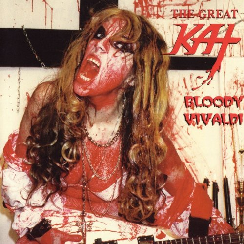 Original album cover of Bloody Vivaldi by Great Kat