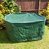 Savisto Large Round All Weather Patio / Garden Outdoor Furniture Cover - 1900 x 800mm