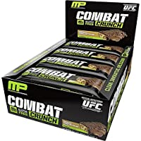 6-Pack MusclePharm Combat Crunch Bars, 12-Bars - Multiple Flavours