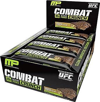 MusclePharm 12-Bars Combat Crunch Bars