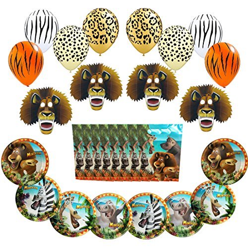 Madagascar Party Pack 28pc