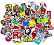 StickerFactory (Mega Mix aus 100) Beste Retro Graffiti Sponsoren Aufkleber / Stickers f�r Autos Notebooks Koffern Laptop Skateboard Gep�ck Gitarre Fahrrad Moebel Dekor Aufkleber