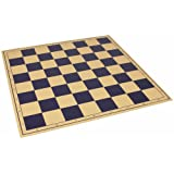 The Chess Store Premium Vinyl Rollup Chess Board Blue - 2.375