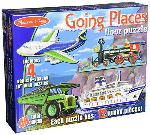 Melissa & Doug Going Places Floor Puzzle - 48 Piece
