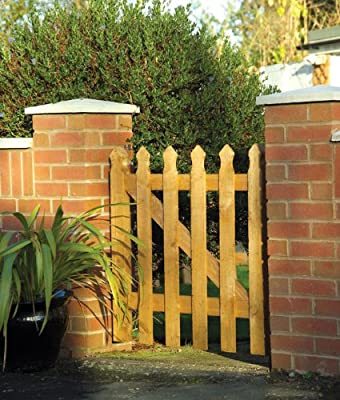 Palisade Tulip Wooden Gate OGD131