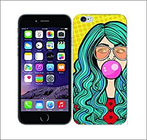 Purple Dew Drops 2121 Graphic Pop Bubble Hard Cover for Apple iphone 6s