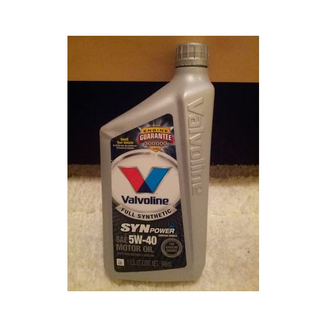 Valvoline Synpower Full Synthetic Motor Oil Sae 5w 40 1