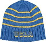 UCLA Bruins Adidas College Vault Striped Cuffless Knit Hat at Amazon.com