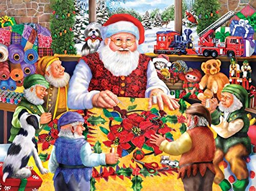 Santa's Quilting Bee Jigsaw Puzzle