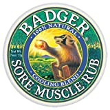 Badger - Sore Muscle Cooling Blend Rub , .75 oz balm