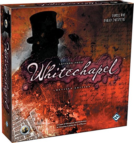 Letters from Whitechapel: A Jack the Ripper Board Game