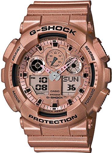 [カシオ]CASIO 腕時計 G-SHOCK Crazy Gold GA-100GD-9AJF メンズ