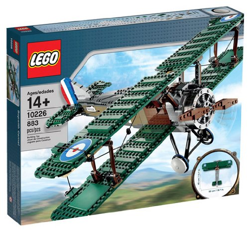 LEGO Exclusive Set #10226 Sopwith Camel LARGER VERSION